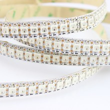 DC5V 1m/4m/5m ws2812b RGB led pixel strip,Black/White PCB,30/60/144 leds/m WS2812 IC,IP30/IP65/IP67 WS2812B