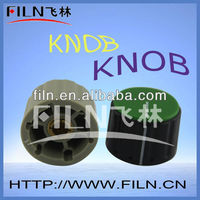black round potentiometer knob 6mm