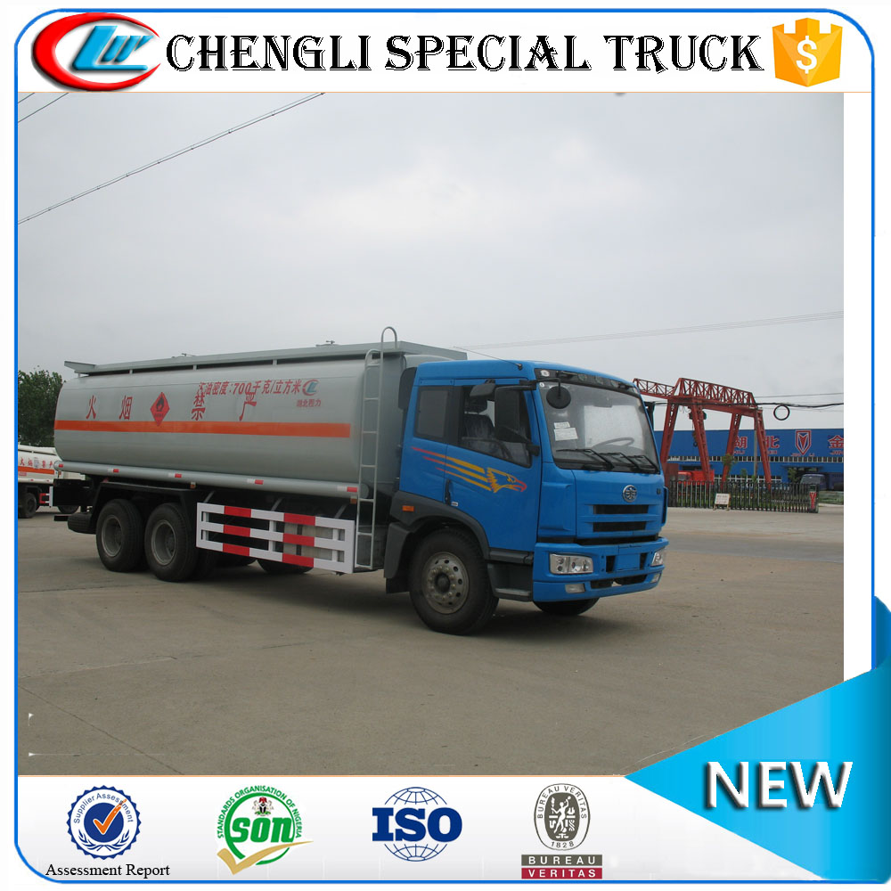 FAW 6x4 LHD RHD Oil Fuel Tanker Vehicle Fuel Oil Delivery Trucks Manufacturer