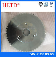 HETD brand China supply High quality standard finished bore transimission galvanization/zinc plated sprocket