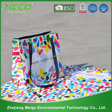 woven carrier bag /plastic woven bag making machine /folding pp woven shopping bag