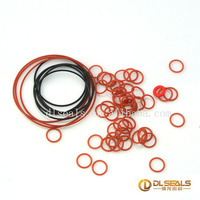 large and small size Colored Rubber Silicone Rubber Seals O Ring
