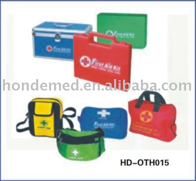 aluminum first aid box