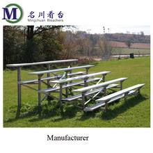 MC-6F environmental hot sale outdoor metal grandstand aluminum bleacher seating sports equipment