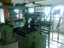 high speed shuttleless narrow width needle loom machine for making zipper tape