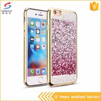 Guangzhou wholesale electroplating frame tpu luxury case for iphone 5 s