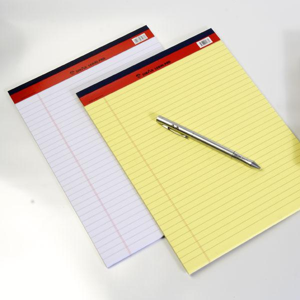 Hottest sale custom A4 printing ruled legal pad