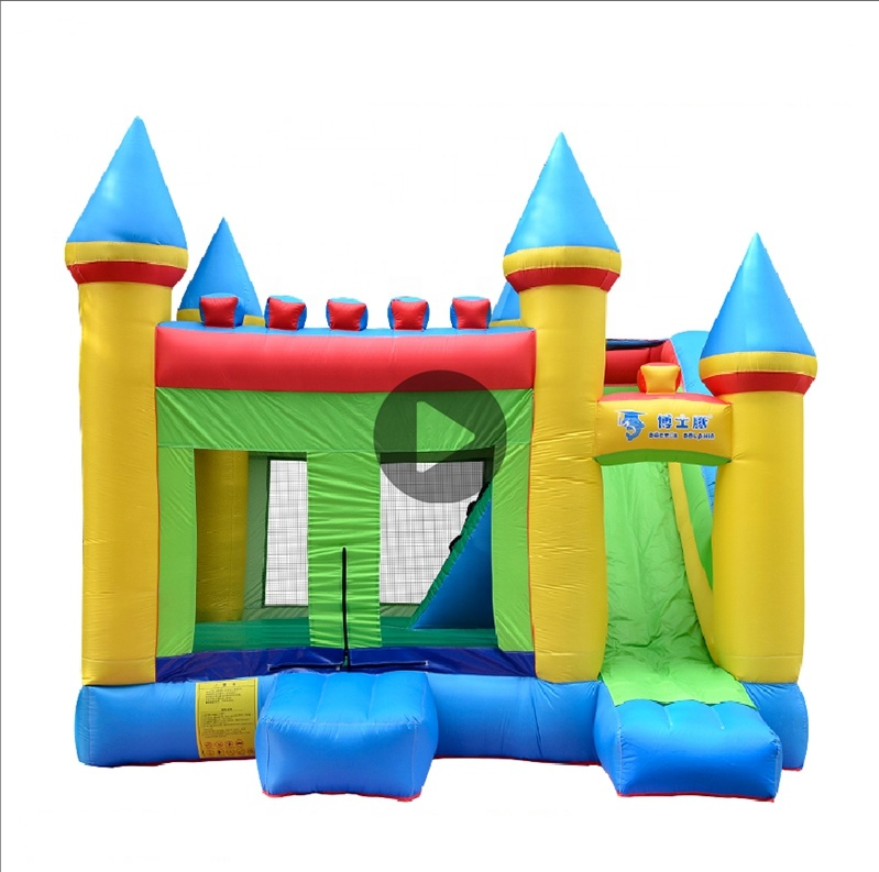 Giant Adult Bouncy Castle Commercial China, <strong>Inflatable</strong> Jumping Bounce House Slide for Sale