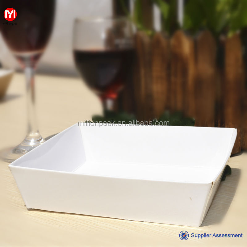 Party Disposable Food Paper Tray/Food container