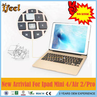 For Apple For Ipad Air 2 Backlight Backlit Wireless Bluetooth Keyboard With LED backlit key