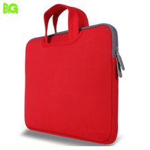 hot sell 15 inch neoprene laptop sleeve with handle