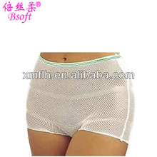 Unisex Use Disposable Stretchy Mesh Panties