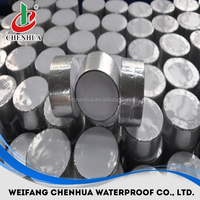 China industrial material self adhesive bitumen waterproof aluminum sheet roll