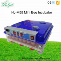 Newest 55 eggs incubator mini broiler eggs for hatching make chicken incubator HJ-M55