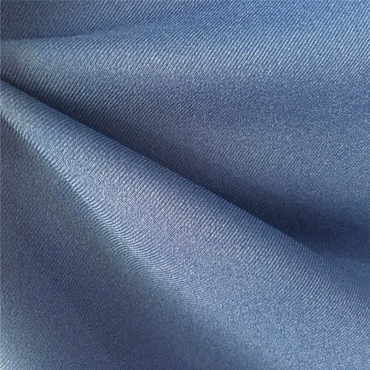 Low Price 100% Polyester Stretch Fabric Gaberdine Twill Fabric for Workwear and Garments