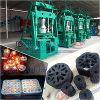 Strength Pressure Honeycomb Charcoal Briquette Machine