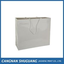 Latest product different types washable kraft paper tote shopping bag