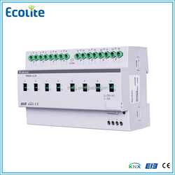 KNX Intelligent Home and Building Relay control module 8-channel