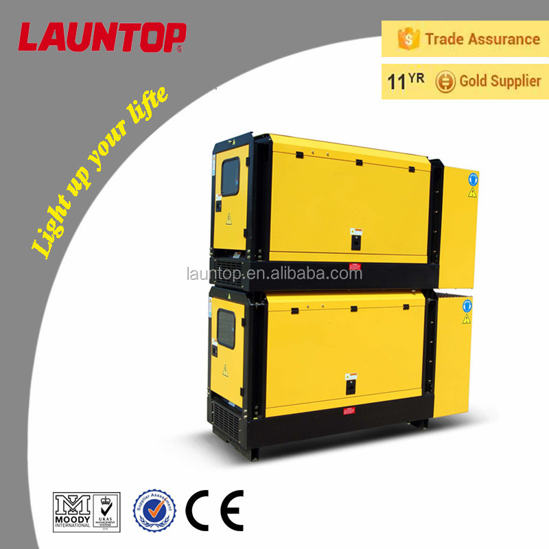 Water-cooled diesel Generator with Chinese engine (standby 11kva)
