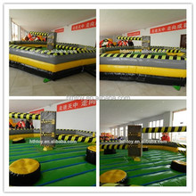 2016 New fashion inflatable wipe out game for kids or adults