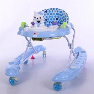 8 wheels plastic with music Rolling Baby strollers wholesale new model baby walker with high quality old fashioned baby walkers