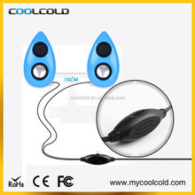 Mini portable multimedia usb wired speaker with home theater speaker system