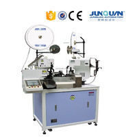CE Approved JQ-1 Both End Fully Automatic Terminal Crimping Machine Automatic Wire Cable Cutting Stripping and Crimping Machine