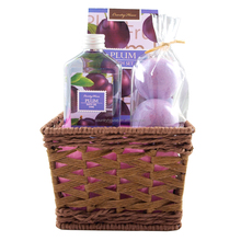 Country House plum promotion bath gift set