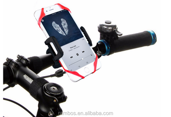 Universal Smartphone Bike Mount Holder with 360 Degree Rotate for iPhone 6S 7 7 Plus