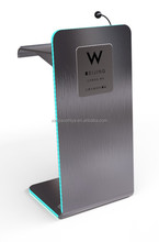 #304 stainless steel led podium lectern