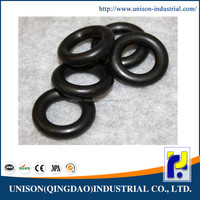 High performance foam rubber o-ring
