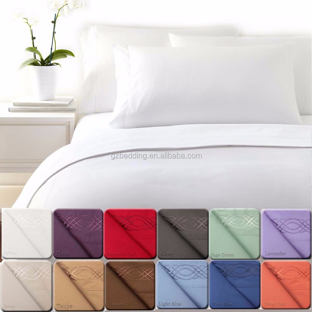 Hotel 4 PIECE Bedding Set 1800 COUNT DEEP POCKET - King- Queen - Full - Twin *Sale*