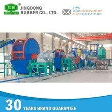 Oils Resistance waste tyre recycling machine to rubber powder