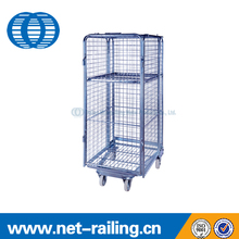 Transport galvanized welding wire mesh security cages