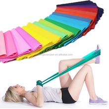 Custom Stretch Bands Yoga Sports Exercise Band, Rubber Elastic Stretch Bands