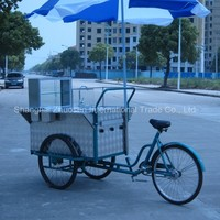 Tricycle & Down Riding Mobile Hot Dog Truck Cart For Sale ZS-HT110 B
