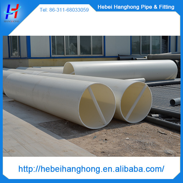 500mm Water Supply Large Diameter Pvc Pipe,Large Diameter Plastic Pipe,Types Of Plastic Water ...