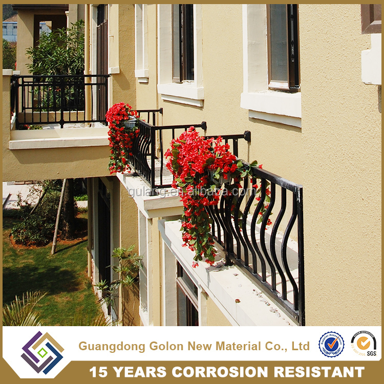 Decking composite decorative outdoor handrails, Balcony Railing