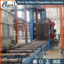 V Roller Type Pipe Shot Blasting Machine
