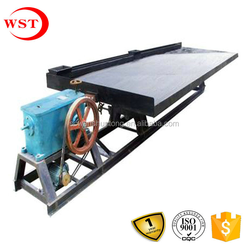 wanshuntong copper concentrate shaking table plant