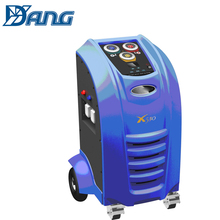 fully automatic r134a auto refrigerant gas recovery charging machine