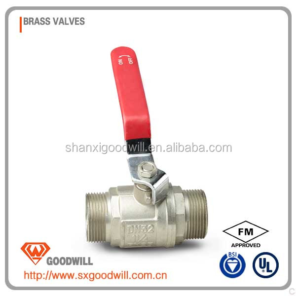 high quality handwheel operated ball valves