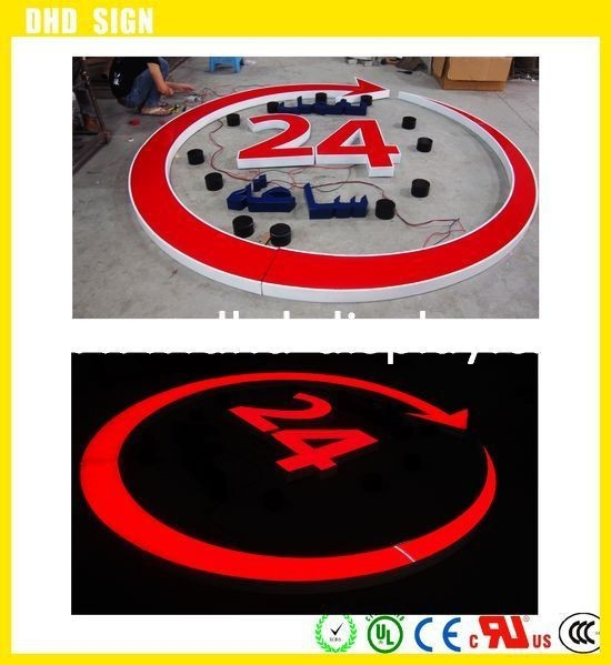 LED channel letter /outdoor advertising signs,led light logo
