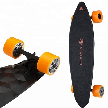 Free shipping to US 31 inch Maxfind dual motor electric skateboard