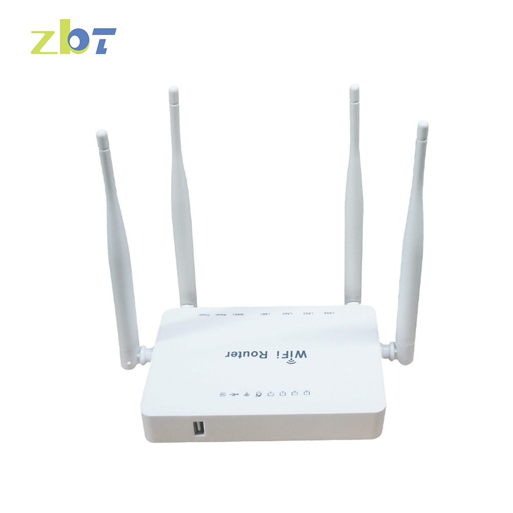 stock original price home use 1A 1 USB 1 WAN 4 LAN 300Mbps openWRT wifi router WE3326