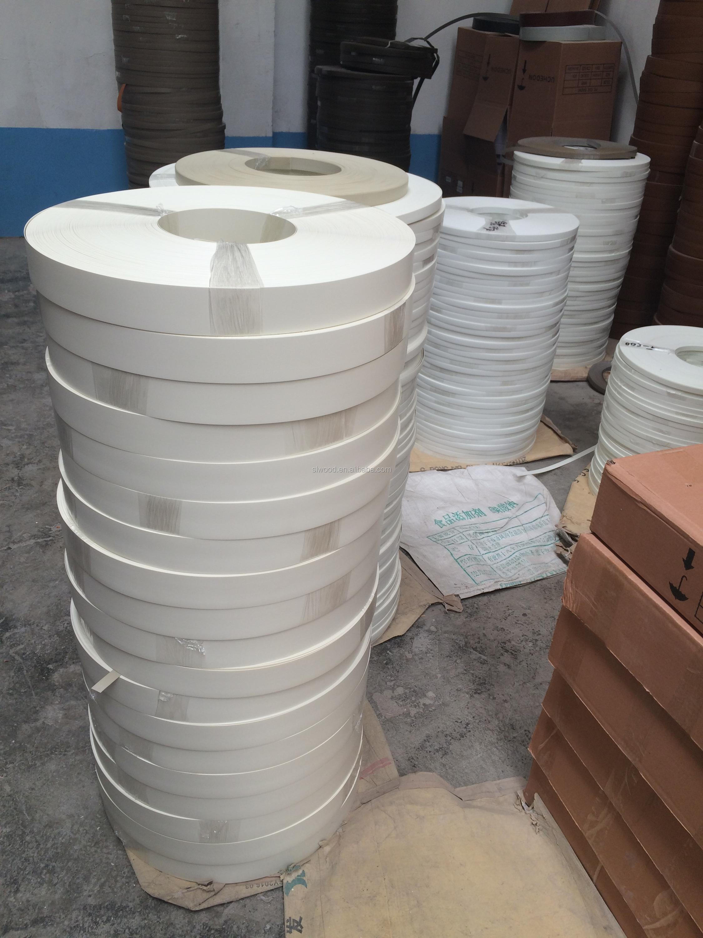PVC edge banding /Acrylic edge banding for MDF/Particle board/furniture