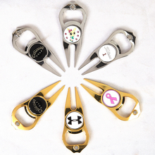 Wholesale divot tool golf sports used with logo ball marker