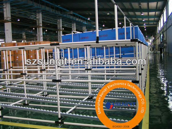 Plastic Coated steel pipe used for pipe rack system