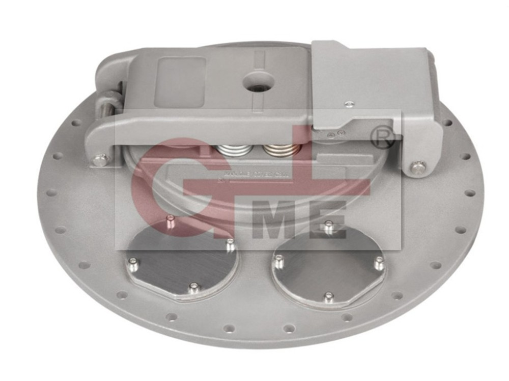 aluminum tank truck manhole cover /top loading manlid