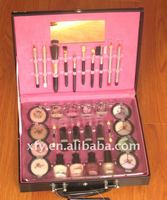Professional Elegant Makeup Kit-eyeshadow lipsticker polish brushses All in one set